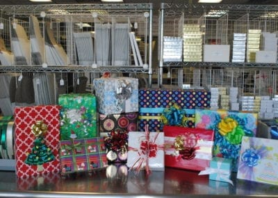 gift wrapping and gift boxes near me